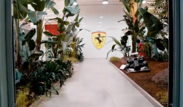 Em Maranello, ansiedade pelo fim do jejum de títulos. Reprodução/Scuderia Ferrari
