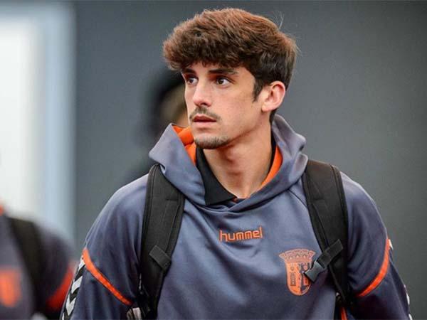 Francisco Trincão se destacou com a camisa do Braga. Foto: Instagram/Reprodução