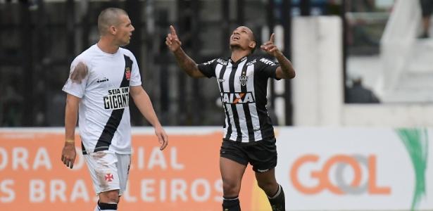Otero comemora gol marcado para o Atlético-MG. Foto: CLEVER FELIX/AGÊNCIA O DIA/AGÊNCIA O DIA/ESTADÃO CONTEÚDO/Via UOL