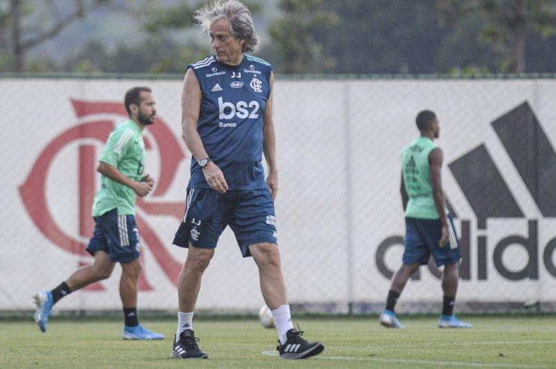 Treinador do Mengão tem contrato até o final de maio. Alexandre Vidal & Marcelo Cortes / Flamengo