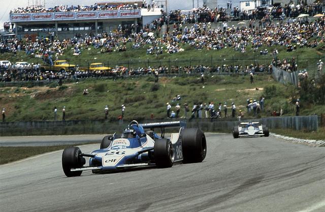 Equipe francesa não teve concorrentes na etapa de Interlagos, com Laffite e Depailler. Foto: Reprodução