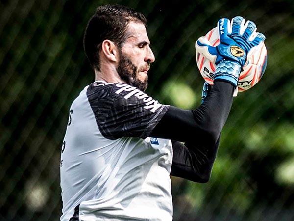 Ídolo no Peixe, goleirão virou reserva de Everson e se transferiu para o Grêmio. Foto: Ivan Storti/Santos FC