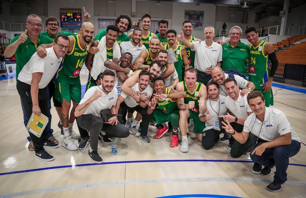 Vitória contra Ilhas Virgens carimbou passaporte para a China. Foto: Divulgação/FIBA