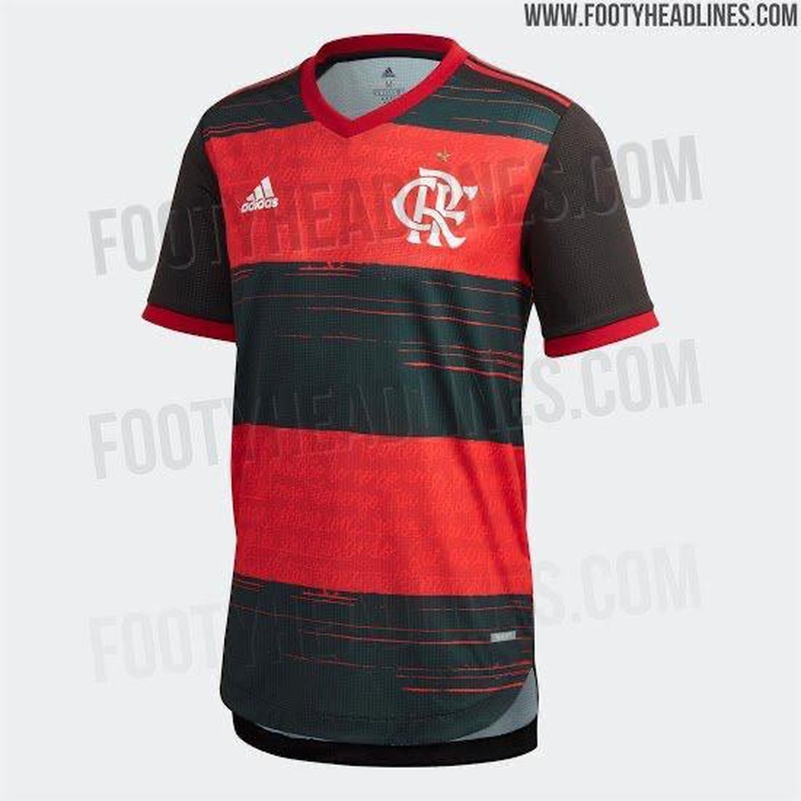 Novo uniforme do Mengão deve ficar à disposição da torcida no dia 15 de fevereiro. Foto: Reprodução