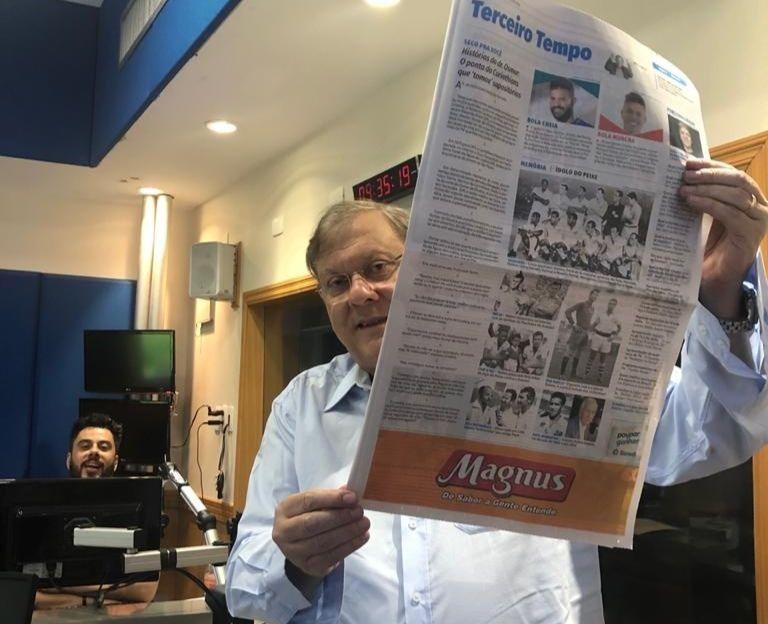 Milton comanda a atração dominical na emissora do Morumbi. Foto: Guilherme Cimatti