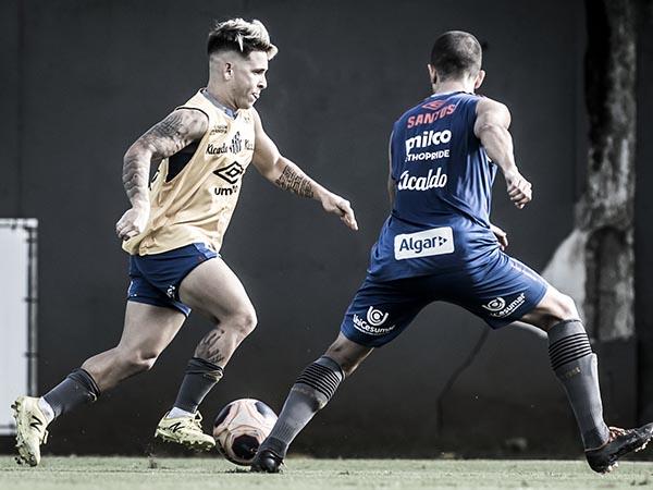 Atacante venezuelano fará sua estreia em 2020. Foto: Ivan Storti/Santos FC