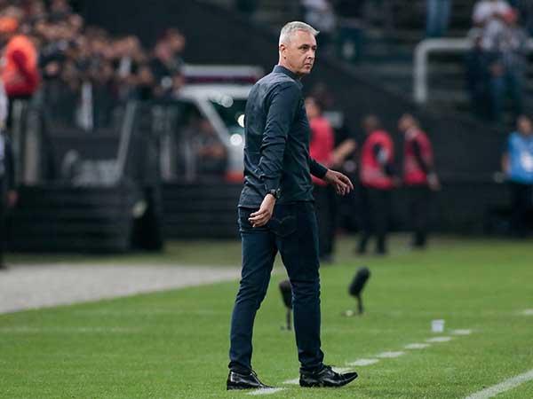 Treinador do Timão não poupou críticas ao árbitro Néstor Pitana. Foto: Rodrigo Coca/Ag. Corinthians