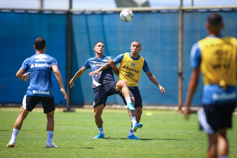 Grêmio terá confronto contra o rival no Beira-Rio. Foto:  Lucas Uebel / Grêmio FBPA