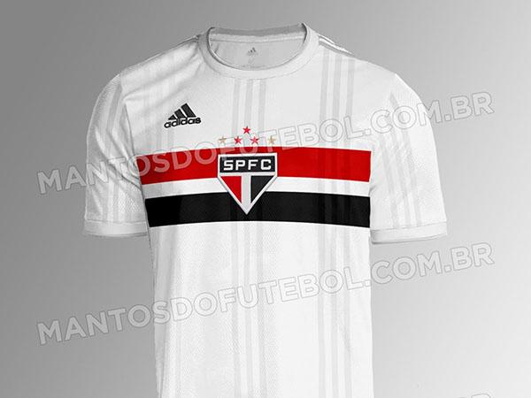 Novo uniforme são-paulino deve ser lançado nas próximas semanas. Foto: Reprodução