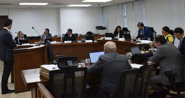 Sessão do Superior Tribunal de Justiça Desportiva definiu torcida única. Foto: Daniela Lameira/Site STJD