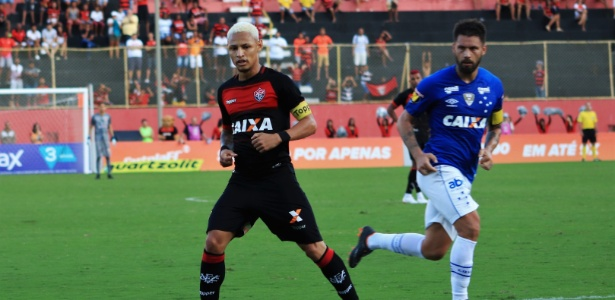 Neílton fez o gol do Vitória. Foto: Maurícia da Matta/EC Vitória/Via UOL