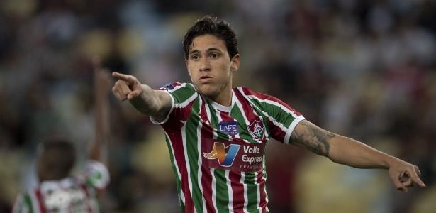 Pedro, ele é o cara do Brasileirão. Foto: AFP PHOTO/Mauro PIMENTEL/Via UOL