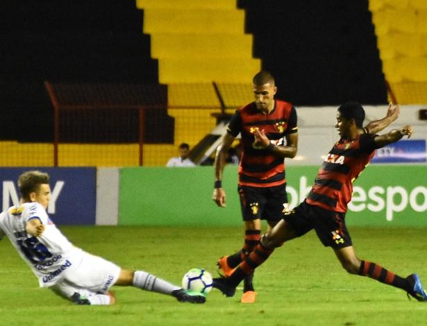 Sport e Chape fizeram jogo disputado em Recife. Foto: UOL