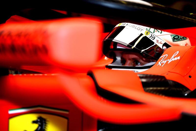 Vettel iniciou os trabalhos em Barcelona na frente em 2019. Foto: Scuderia Ferrari