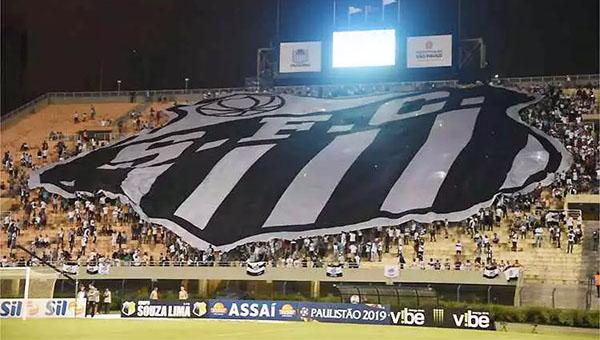 Última partida do Peixo no estádio foi em 2019, pela Copa do Brasil. Foto: Ivan Storti/Santos FC
