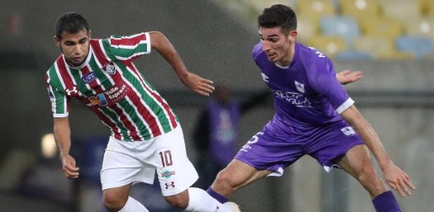 Sornoza sentiu problema no jogo contra o Bahia