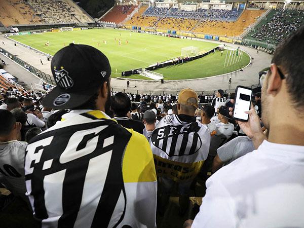 Objetivo do Peixe é disputar ao menos 10 jogos no estádio paulistano. Foto: Pedro Ernesto Guerra Azevedo/Santos FC