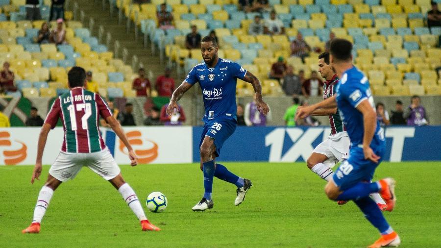 Agente do zagueiro não revelou quais são os clubes interessados no zagueiro.Foto: Bruno Haddad/Cruzeiro