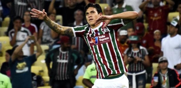 Atacante tricolor Pedro já marcou 10 gols no Campeonato Brasileiro