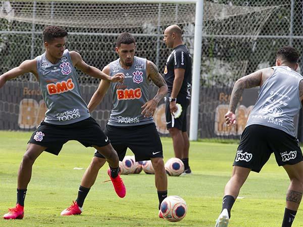 Timão vai com força máxima diante do clube do ABC. Foto: Daniel Augusto Jr./Agência Corinthians