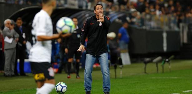 Timão enfrenta o Colo-Colo logo mais, no jogo de ida das oitavas de final da Libertadores. Foto: Daniel Vorley/AGIF/Via UOL