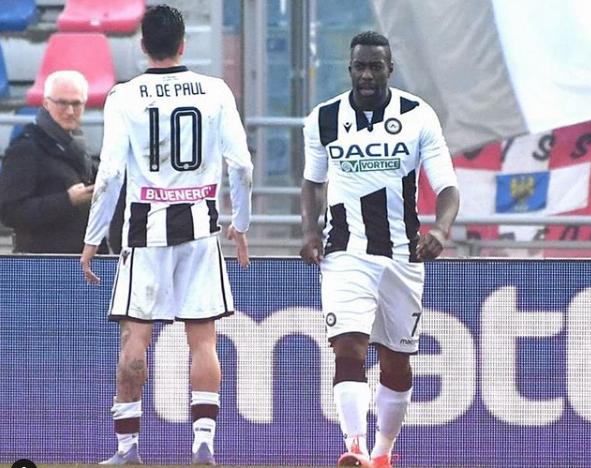 Udinese disputaria partida no próximo sábado. Foto: Instagram oficial da Udinese