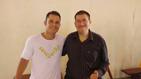 Entrevista do jornalista Maurício Sabará realizada no Sesc Pompéia