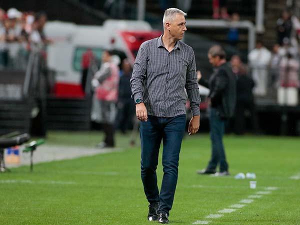 Treinador do Timão disse entender a irritação do torcedor. Foto: Rodrigo Coca/Agência Corinthians