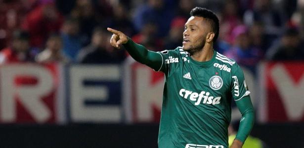 Borja foi o destaque da vitória alviverde no Paraguai, com dois gols