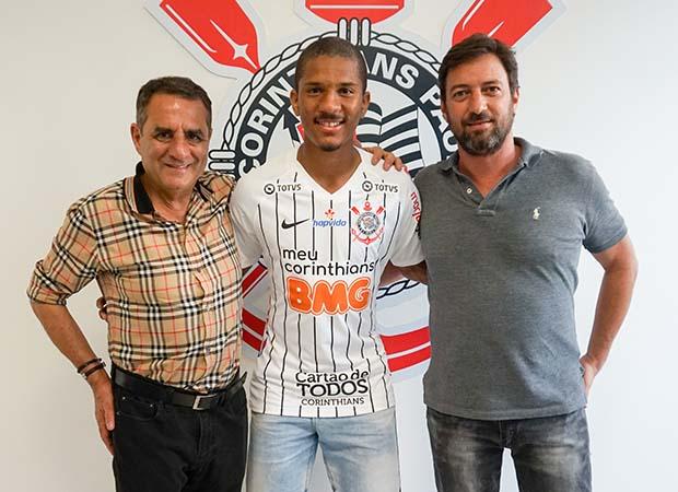 Contratado junto ao Guarani, a jovem promessa pode ainda ser integrado ao time sub-23. Foto: Agência Corinthians