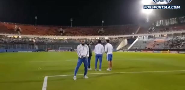 Apesar da situação, Felipe Melo disse gostar do clima hostil em partidas fora de casa