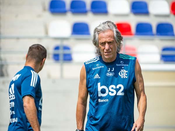 Treinador rubro-negro destacou que voltará a Portugal quando encerrar sua passagem pelo Brasil. Foto: Alexandre Vidal/Flamengo