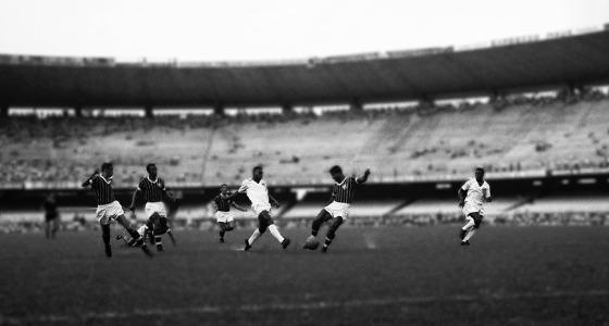 Jogo valeu pelo Rio-São Paulo de 1961. Foto: Santos/Reprodução