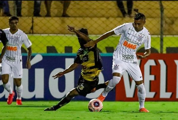 O Timão não saiu do empate por 1 a 1 contra o Novorizontino. (Foto: Corinthians)