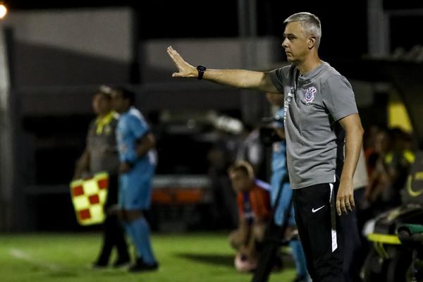 O Corinthians empatou com o Novorizontino por 1 a 1. (Foto: Corinthians)