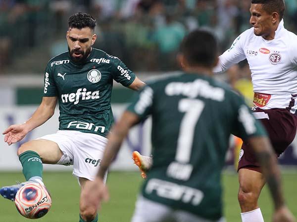 Verdão está há seis jogos sem perder. Foto: Cesar Greco/Palmeiras