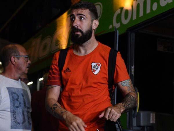 Atacante do River não marcou nenhum gol na atual temporada. Foto: Facebook/Reprodução