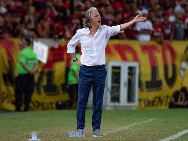 Técnico português tem contrato até maio com o Flamengo. Foto: Alexandre Vidal / Flamengo