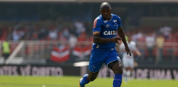 Sassá, atacante do Cruzeiro, está perto de retorno aos gramados. Foto: Marcello Zambrana/Light Press/Cruzeiro