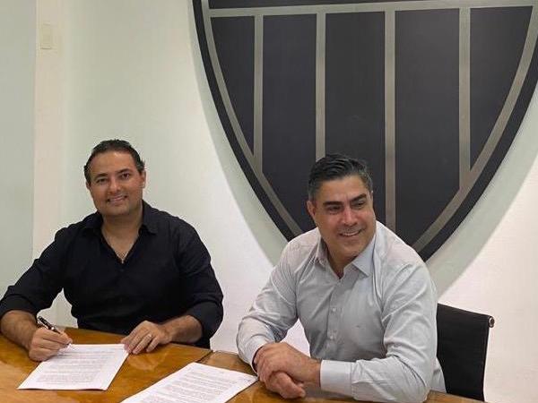 Mattos assinou contrato até 2021 com o Galo. Foto: twitter/Reprodução