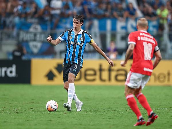 Capitão do Grêmio afirmou que todos os jogadores são culpados pela briga. Foto: Lucas Uebel/Grêmio FBPA