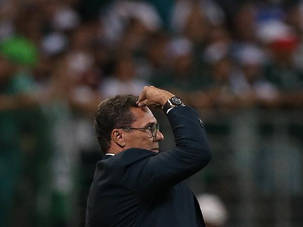Técnico Luxemburgo não pode contar com Gustavo Gomez, suspenso. Foto: Cesar Greco