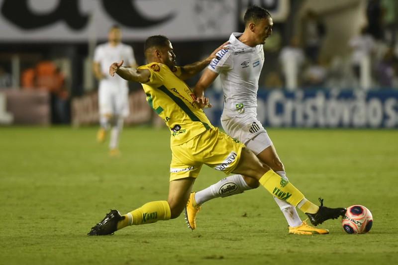 Segundo a Gazeta Esportiva, Pituca não quis ouvir proposta do Galo. Foto: Ivan Storti/Santos FC