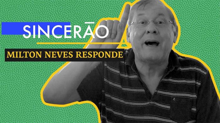 """Milton Neves é destaque do quadro """"Sincerão"""", do UOL Esporte"""