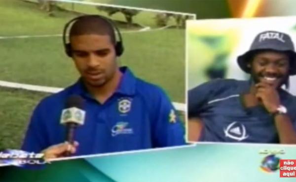 Adriano estava na seleção e Love negociava sua transferência para o Corinthians