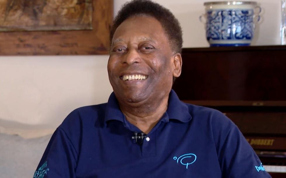 Em entrevista à CNN, Pelé comentou o título do Verdão em 51 e explicou seu estado de saúde. Foto: Reprodução