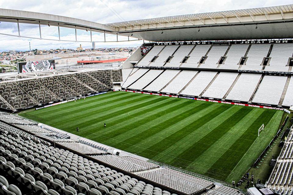 O Corinthians abriu as portas da Arena para que o governo de São Paulo utilize de alguma forma. Foto: Facebook/Reprodução