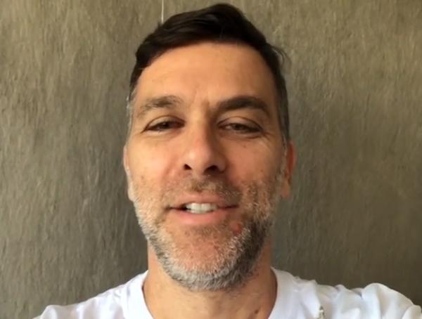 Ex-jogador conversou ao vivo com Milton Neves. Foto: arquivo pessoal de Marcelinho