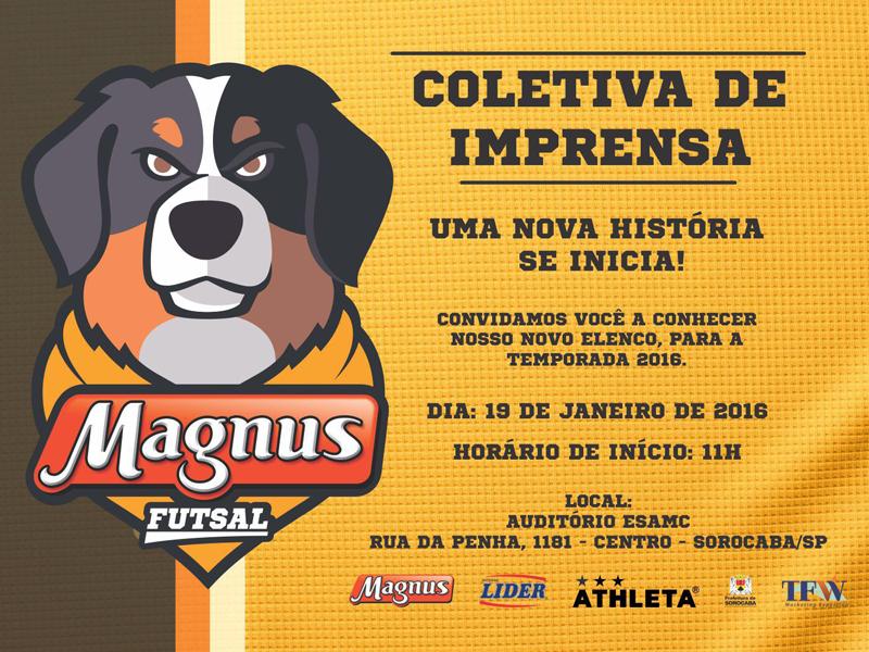 Nessa temporada, a equipe disputará três torneios: a Liga Paulista, Liga Nacional e Mundial de Clubes