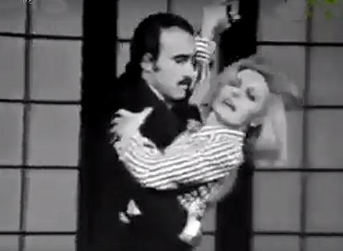 Clay Regazzoni participou de um programa na TV italiana. Foto: Reprodução